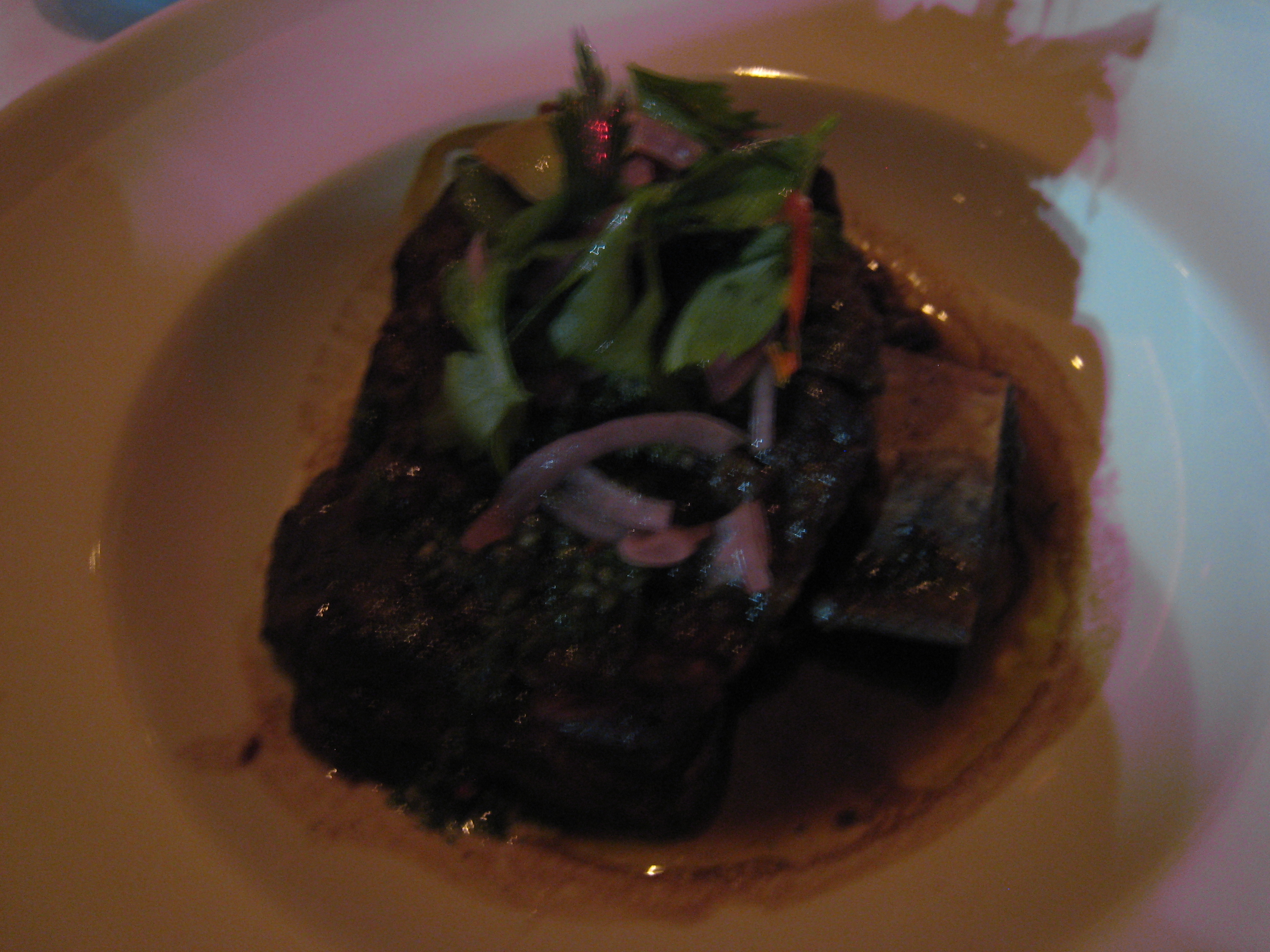 Braised Beef Short Ribs With Salsa Verde And Feta Recipe — Dishmaps
