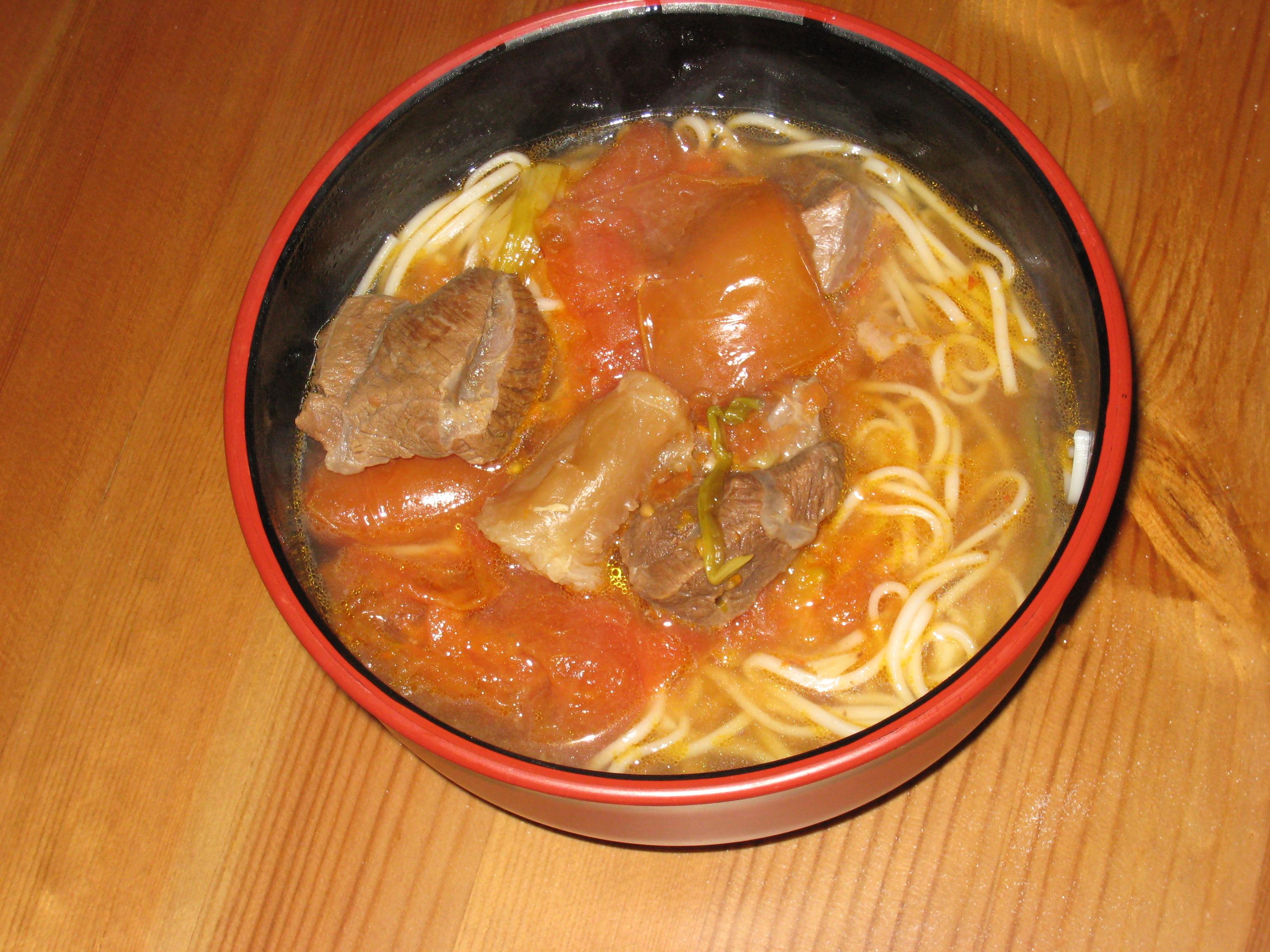 Taiwanese Beef Noodle Soup 2-Way (蕃茄牛肉麵/ 紅燒牛肉麵) | Life, Food